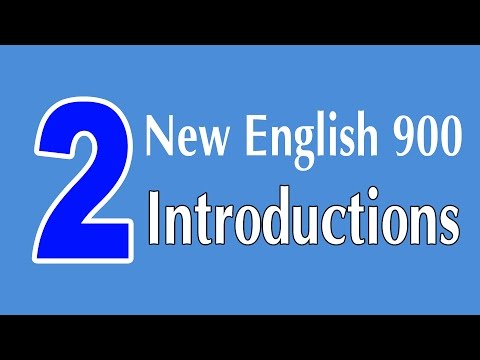 Learning English Speaking Course - New English Lesson 2 - Introductions