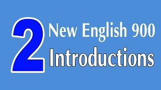Learning English Speaking Course - Introductions