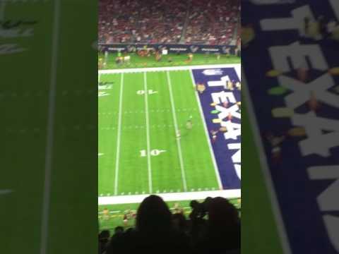 Texans vs saints halftime