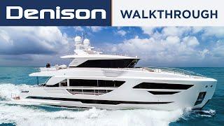 87 Horizon FD87 Motoryacht [Walkthrough]