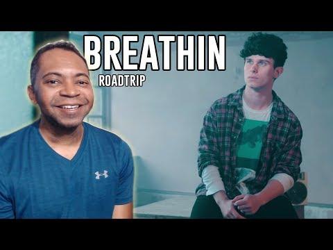 Roadtrip TV - Breathin  Ariana Grande REACTION