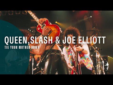 Queen & Slash/Joe Elliott - Tie Your Mother Down (The Freddie Mercury Tribute Concert)