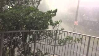 Brisbane Hail Storm November 27th 2014
