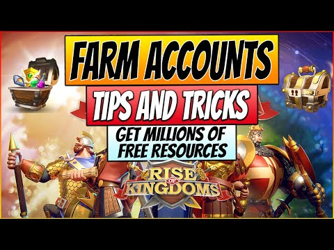 Rise of Kingdoms - FARM ACCOUNT GUIDE 2020 - How to set yourself up for the future and KvK!