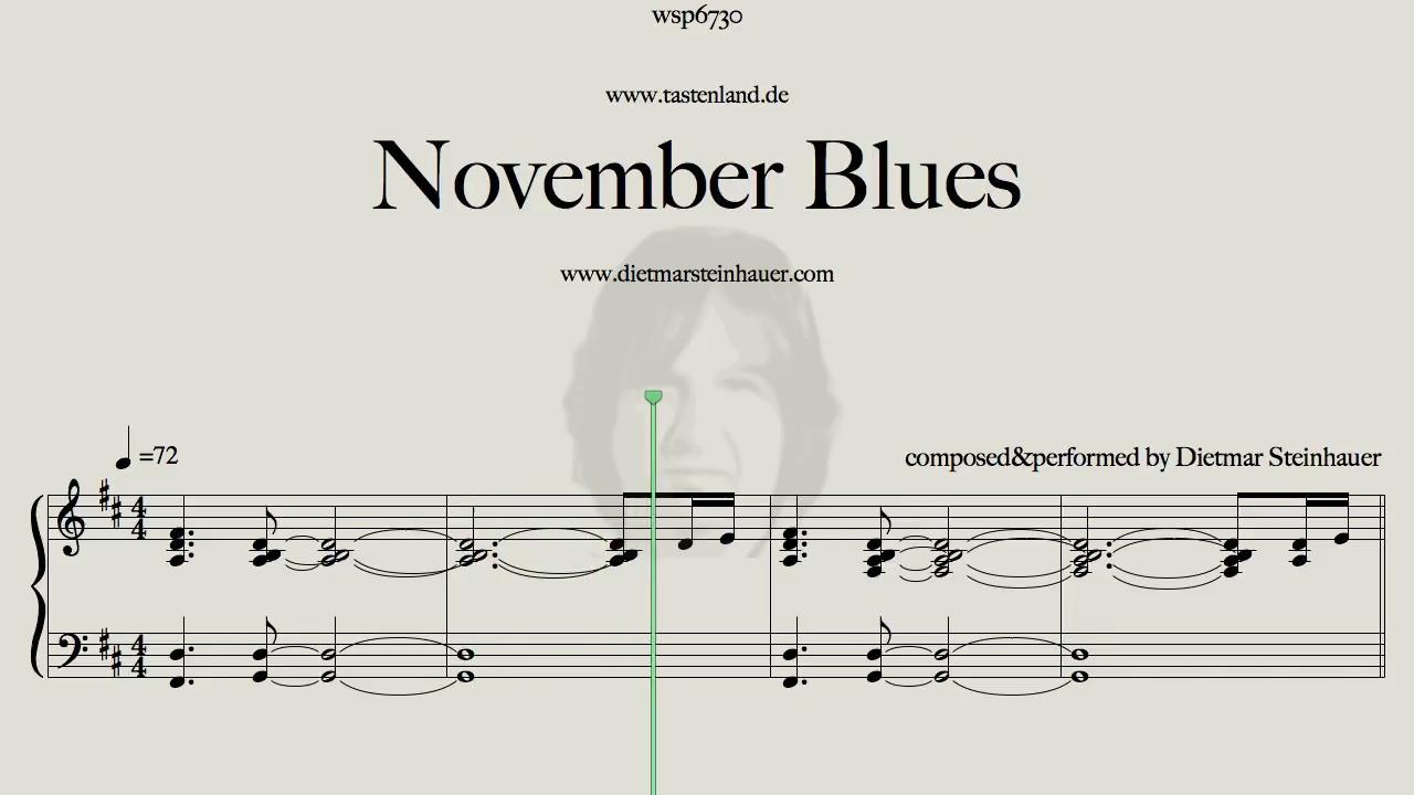 Attraktiv November Blues Dekoration Von