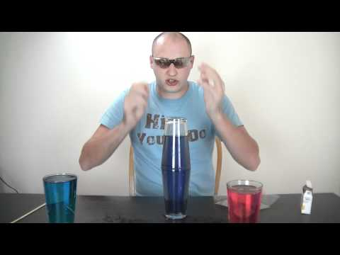 Water Density: Hot and Cold water Experiment