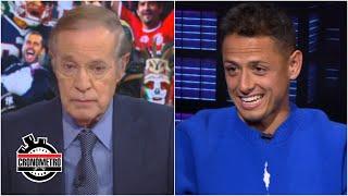 DE FRENTE José Ramón Fernández CARGÓ contra Javier Chicharito Hernández por Carlos Vela | Cronómetro