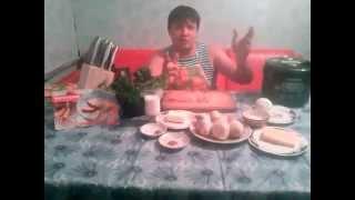 Второе блюдо в мультиварке Redmond, жульен с курицей и грибами