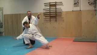 Айкидо Айкикай - Переход с ударов на броски