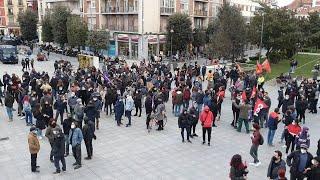Protesta en Valladolid contra la prisión del rapero Pablo Hasel