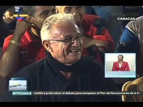 En Contacto Con Maduro #51, parte 10/17, Consejo Presidencial Cultura, Libio Olivares