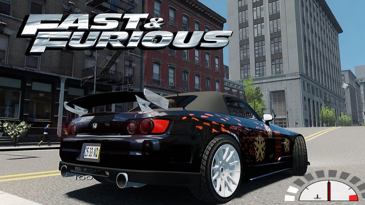 gta fast and furious 1 honda s2000 movie car loud sound. Black Bedroom Furniture Sets. Home Design Ideas