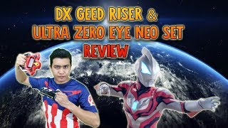 Ultraman Geed: DX Geed Riser & Ultra Zero Eye Neo Review from HobbyLink Japan