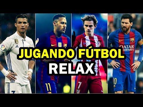 JUGANDO FÚTBOL RELAX - PAULO LONDRA - RELAX (Official Video)