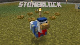 StoneBlock - SMART CHICKENS [E11] (Modded Minecraft)