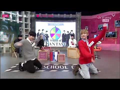 JBJ Kenta and Donghan Random Dance ( Dont Wanna Cry, Playing with fire, etc)