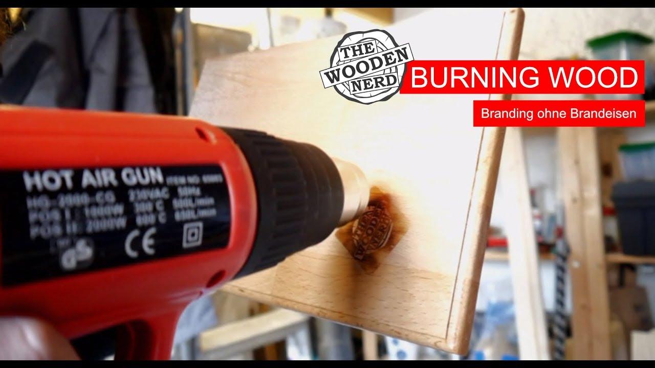 Hervorragend Burning Wood – (Holz)Branding ohne Brandeisen (a la Laura Kampf QB47