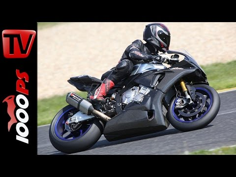 Datarecording Analyse Yamaha R1M am Pannoniaring | Hobby vs Profi