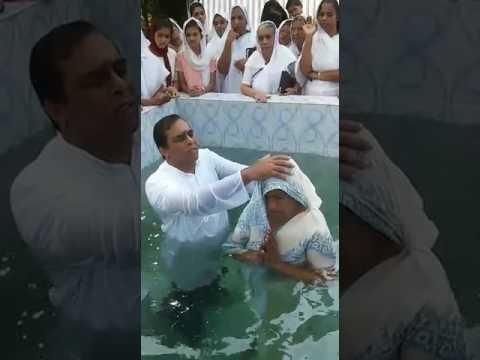 Baptism india