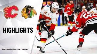 Nhl Highlights | Flames @ Blackhawks 1/7/20