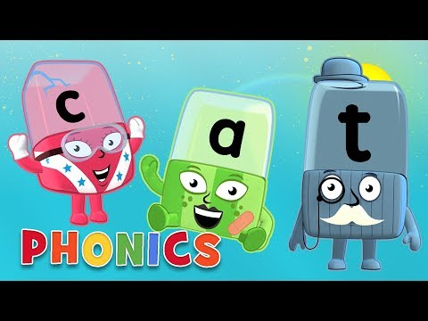 Alphablocks - Learn to Read | Phonetic Spelling | Phonics for Kids