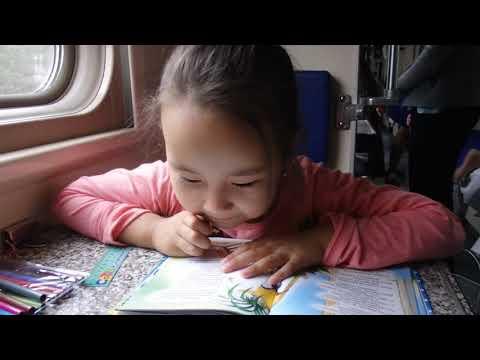 Урок в поезде Москва - Орск