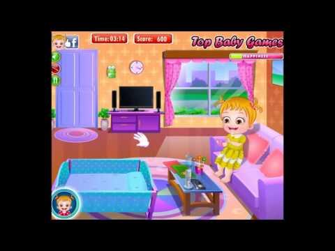 Онлайн игра Малышка Хейзел чистит зубы Игры уход за