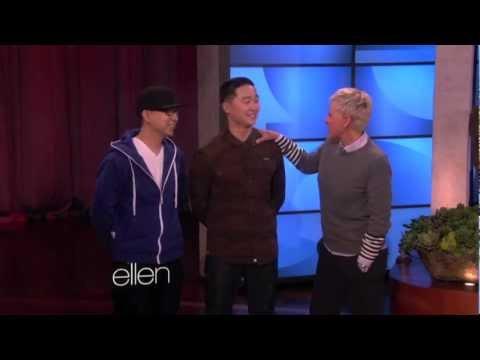 KRNFX & Mike Song on Ellen Degeneres
