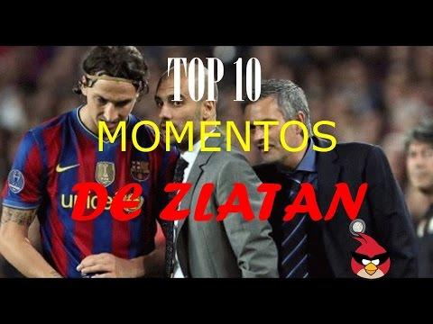 Top 10 momentos de Zlatan