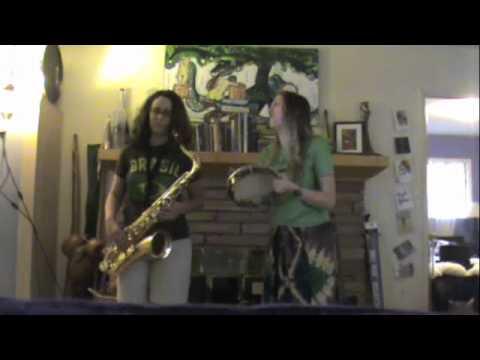 Brass Monkey: Pandeiro/Sax Cover