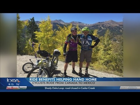 Men rode across the country to help abused children in Austin