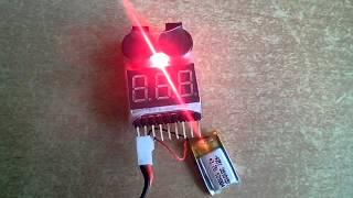 Пищалка-сигнализатор низкого напряжения 1S-8S