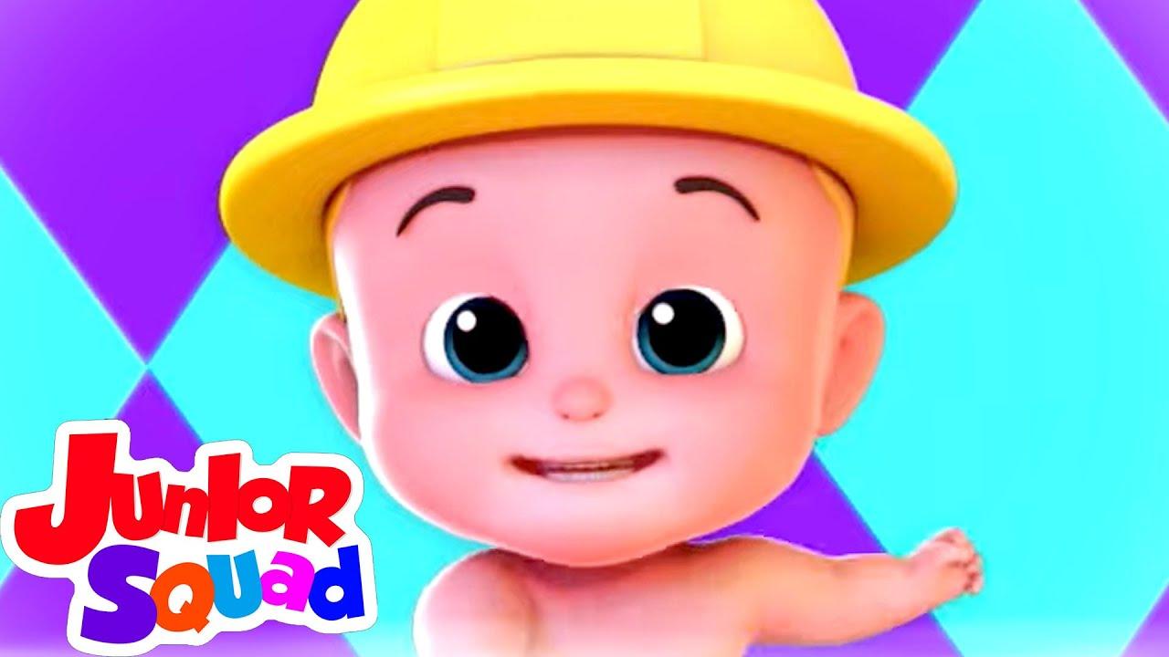 Kaboochi | Lagu anak anak | Bayi sajak | Junior Squad Indonesia | Kartun untuk anak