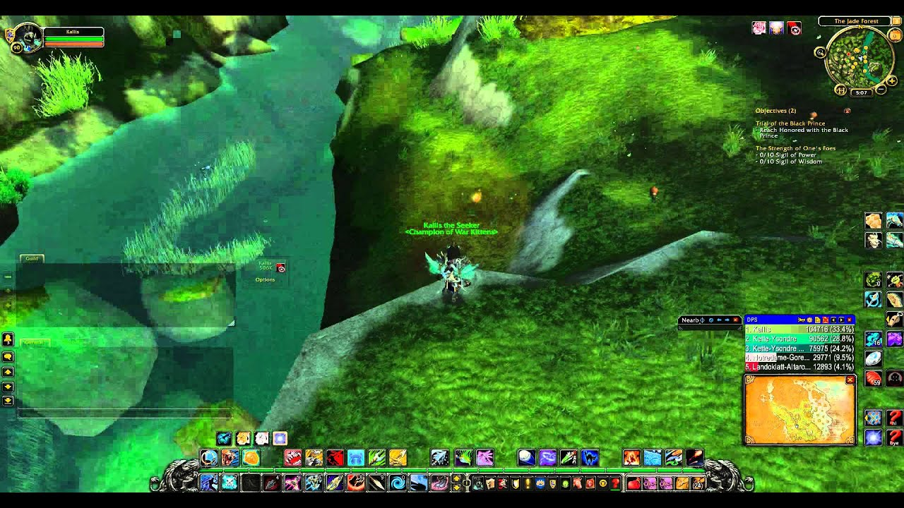 World of Warcraft rare hunter pet locations - The Jade Forest
