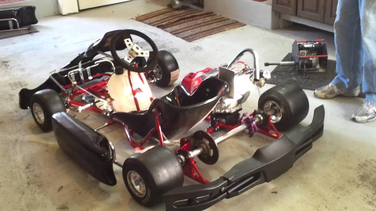 honda gx200 margay race kart youtube. Black Bedroom Furniture Sets. Home Design Ideas