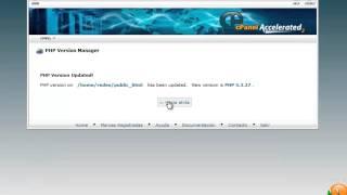 Preguntas Frecuentes Joomla - Cómo cambiar la versión de PHP en el Cpanel
