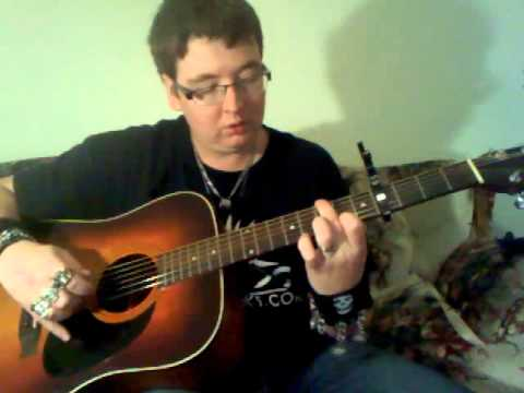 me showing you how to play 'anymore' by travis tritt on acoustic guitar