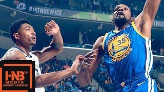 Golden State Warriors vs Memphis Grizzlies Full Game Highlights | April 10, 2018-19 NBA Season