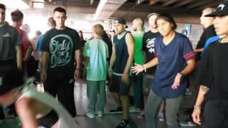 Kółeczko na Outbreak Europe 2016: Raw Bgirls vs CrissyB & LadyFury