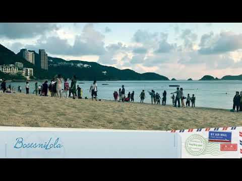 Repulse Bay beach Hong Kong Time lapse