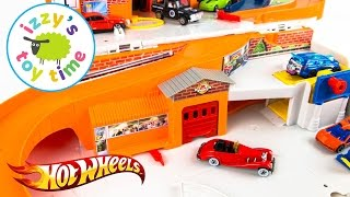 Hot Wheels Sto & Go and Fast Lane Playset | Cars