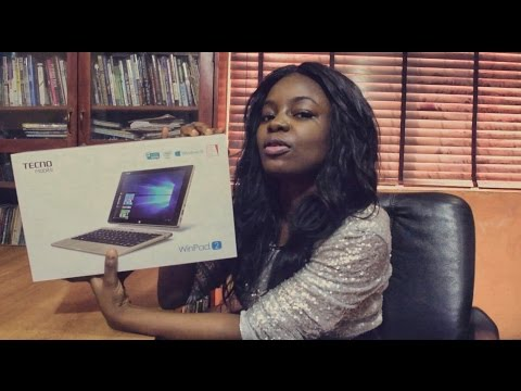 Tecno WinPad 2 Unboxing; The Tablet That Is Also A PC.
