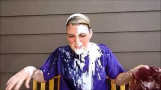 Did my part! Pie in the face for Huntington