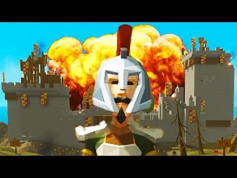 Ylands - DESTROYING the CASTLE! - Ylands Custom Game! -  Ylands Multiplayer Gameplay