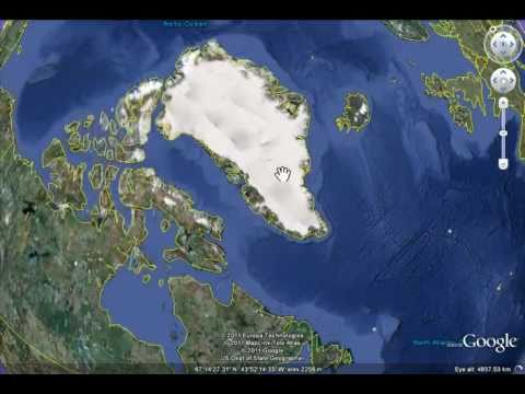 Missing Area at North Pole in Google Earth