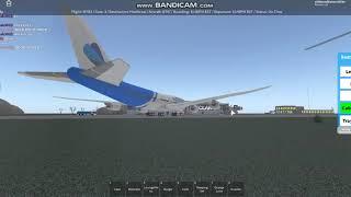 ROBLOX || SkyFly Generation flight Investor Class B747 (PART 1 EPISODE 1)