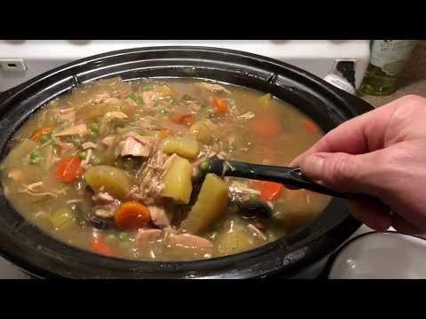 Turkey Stew Slow Cooker Recipe