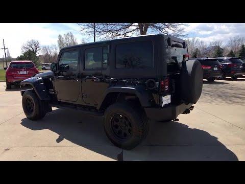 2013 Jeep Wrangler Broomfield, Arvada, Thornton, Boulder, Longmont, Ft. Collins, CO 170345A