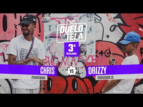 Chris vs Drizzy (3º Round) - Duelo na Tela #25 - Tradicional