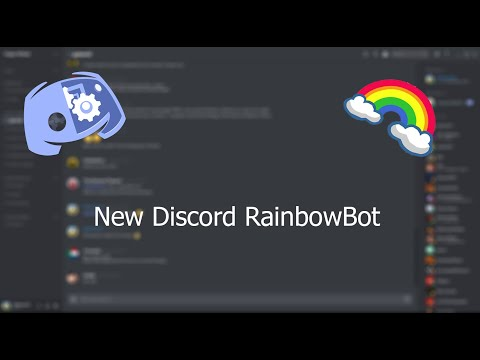 *NEW* Rainbow Bot for Discord